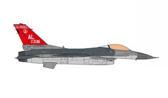 USAF ANG F-16C 160th Fighter Squadron 187th Fighter Wing 2017 JCW-72-F16-009 scale 1:72