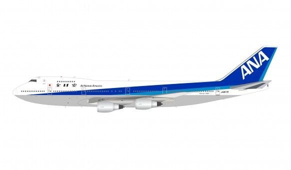 ANA All Nippon Airlines Boeing 747-200 JA8175 with stand B-models B-742-ANA-8175 scale 1:200