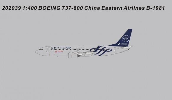 China Southern Boeing 737-800 Skyteam livery B-2693 中国南方航空 die-cast Panda 202037 scale 1:400