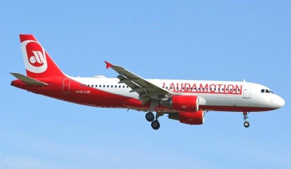 Lauda Motion Airbus A320neo OE-LOE JC Wings LH4LDA100 scale 1:400