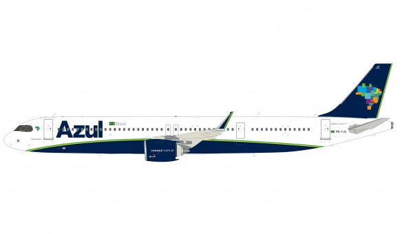 Azul Linhas Aereas Brasileiras Airbus A321-271N PR-YJC  with stand InFlight IF321AS0720 scale 1:200