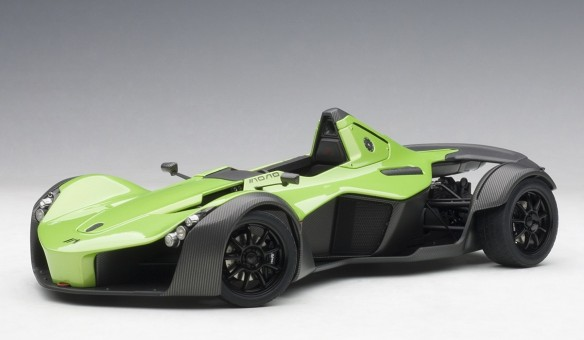 BAC Mono metallic green AUTOart 18114 die-cast Scale 1:18