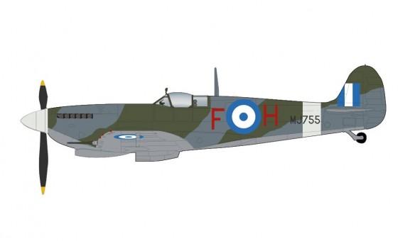 Hellenic Air Force Mk.IX MJ755 (restored) 2020 Greece Hobby Master HA8322 scale 1:48