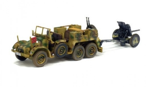 Krupp Protze L2H143 & PAL 35/36 France 1943 WWII War Master S7200512 scale 1:72