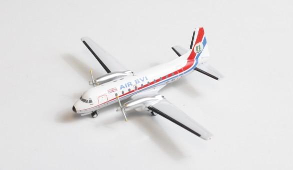 Air BVI HS-748 VP-LVO Aeroclassics AC419673 die-cast scale 1400