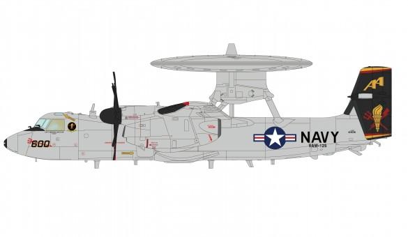 US Navy Tiger Tails E-2C Hawkeye VAW-125 NAS Norfolk Sept 2009 Hobby Master HA4813 scale 1:72