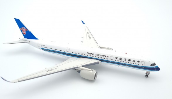 China Southern Airbus A350-900 B-309W 中国南方航空 with stand Aviation400 AV4075 scale 1:400