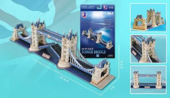 London Tower Bridge 118 Pieces