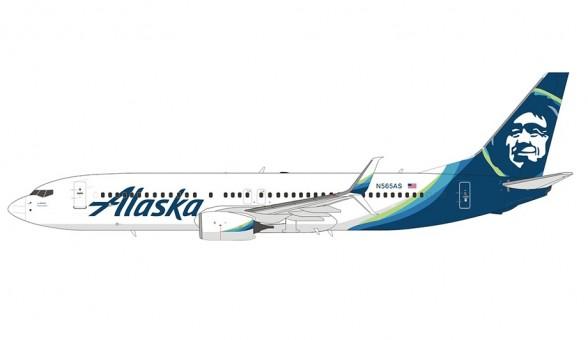 Alaska Boeing 737-800 new livery Scimitars N565AS NG models 58049 scale 1400