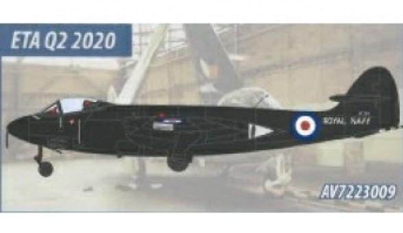 Hawker Sea Hawk Fleet Requirements Unit Hurn 1968 AV72-23009 Aviation 72 Scale 1:72