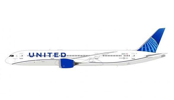 United Boeing 787-9 Dreamliner new 2019 livery N29975 NGModel 55040 NGmodel NG scale 1:400