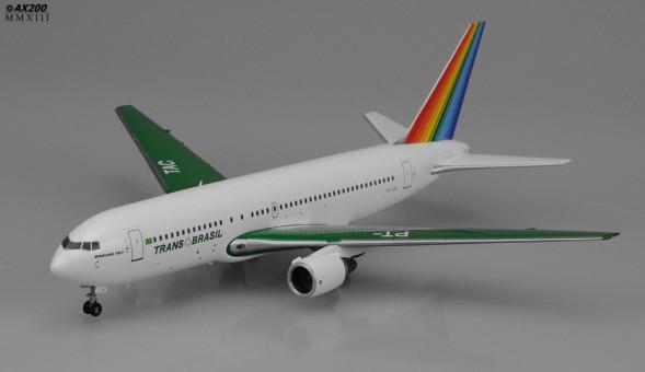 TransBrasil B767-300 Green PT-TAC JC Wings scale 1:200