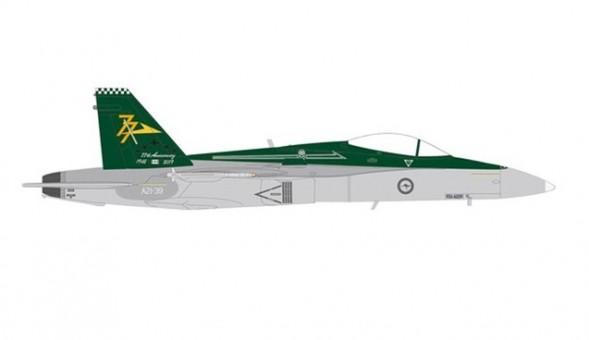 Australian Air Force RAAF F/A-18A die-cast Herpa HE580601 scale 1:72