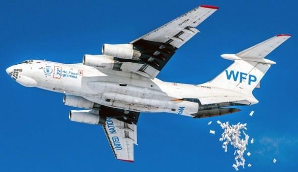 New Mould! World Food Programme UN Ilyushin IL-76T RA-76780 Plastic AviaBoss A2010 scale 1:200