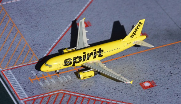 Spirit A319 new livery N534NK. Very limited edition