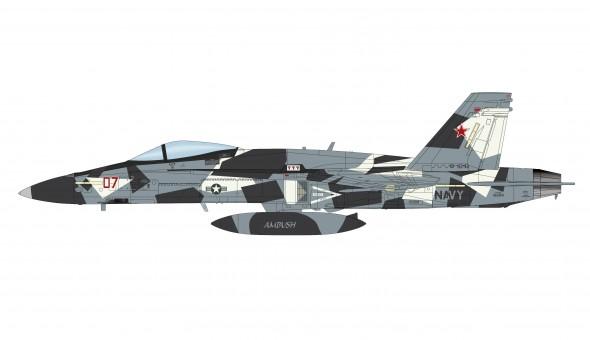 Fighting Omars F/A-18D Hornet US Navy VFC-12 2019 Hobby Master HA3553 scale 1:72