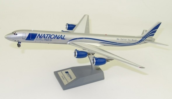 National Airlines Douglas DC-8-73F N155CA with stand IFDC873N80819 InFlight  scale 1:200
