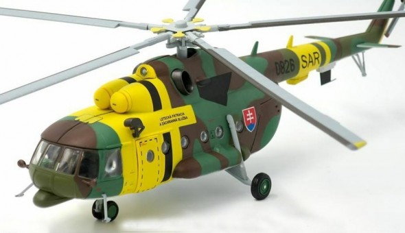 Mi-17 Hip Slovakia Air Force Helicopter 1st Training SAR Squadron 2014 JC Wings JCW-72-Mi17-001 Scale 1:72
