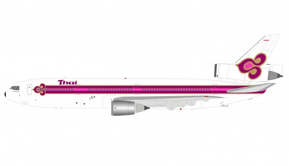 Thai Airways DC-10-30 HS-TMA with stand InFlight IFDC10TG0219 scale 1:200
