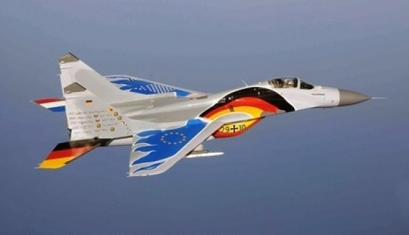 Unified Germany Mikoyan Mig-29A Fulcrum  29+10 Herpa 580557 scale 1:72