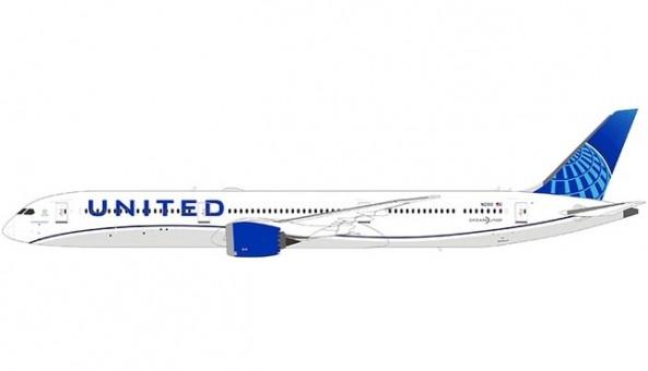 United New 2019 livery Boeing 787-10 N12010 Dreamliner B78X NGModel 56003 scale 1:400