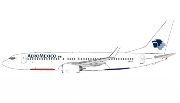 AeroMexico (Transavia colors France) Boeing 737-846 XA-III InFlight/JFox JF-737-8-029 scale 1:200