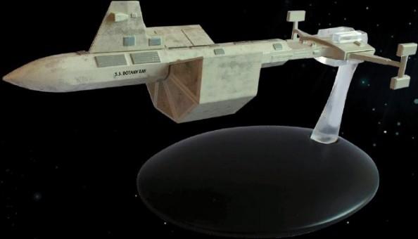 S.S. Botany Bay EM-ST0060 Star Trek Universe EagleMoss Die-Cast EM-ST0060