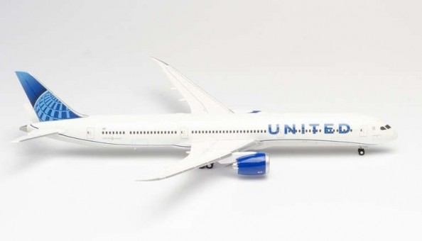 United Boeing 787-10 Dreamliner new livery Herpa 570848 scale 1:200