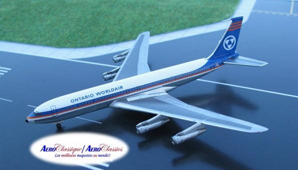 Ontario Worldair Airlines  Boeing B707-338C