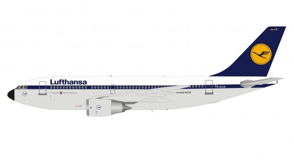Lufthansa Airbus Airbus A310-203 D-AICB with stand B-Models/Inflight B-310-0718 scale 1:200