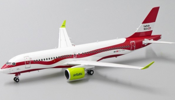 Air Baltic Lativa 100 A220-300 YL-CSL JCWings JC2BTI259 scale 1:200