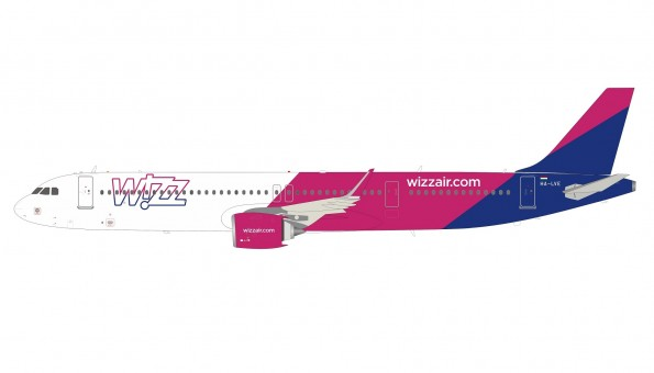 Wizz Air Airbus A321neo HA-LVE with stand InFlight IF321NW60420 scale 1:200