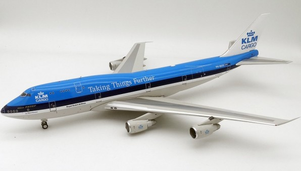 """KLM Cargo Boeing 747-200 PH-BUH """"Taking Things Further"""" with stand InFlight IF742KLM-100-2 Royal Dutch Airlines scale 1:200"""