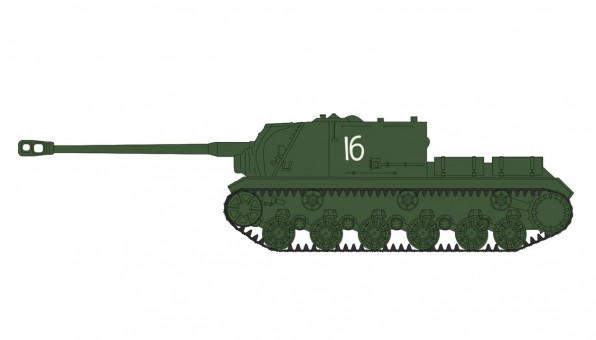 ISU-152 Tank Destroyer 3rd Belorussian Front Unit Konigsberg WWII 1945 WWII Hobby Master HG70556 scale 1:72
