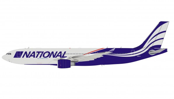 National Airlines Airbus A330-200 N819CA with stand InFlight IF332N80720 scale 1:200