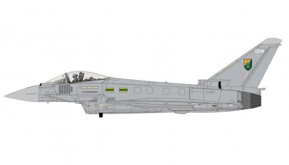 New Mould! Typhoon F.2 3 Squadron RAF Libya 2011 Hobby Master HA6601 Scale 1:72
