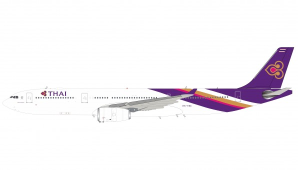 Thai Airways Airbus A330-300 HS-TBC with stand InFlight IF333TG0219 scale 1:200