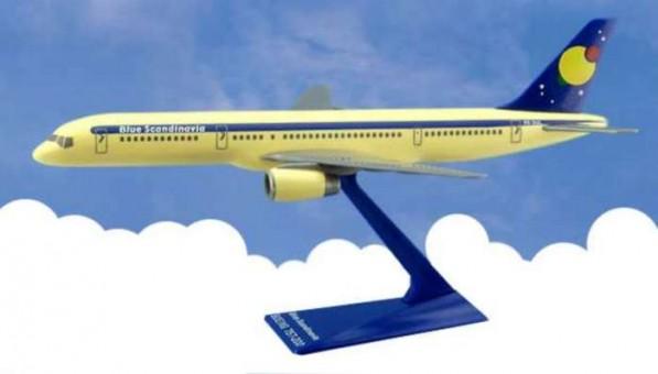 Flight Miniatures Blue Scandinavia Boeing B757