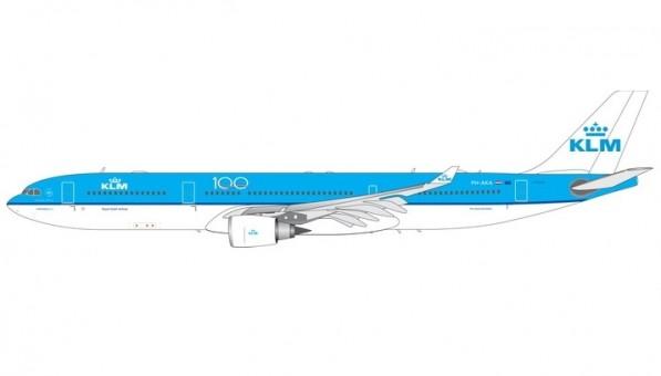 KLM Airbus A330-300 PH-AKA 100 Years Phoenix 11584 die-cast scale 1:400