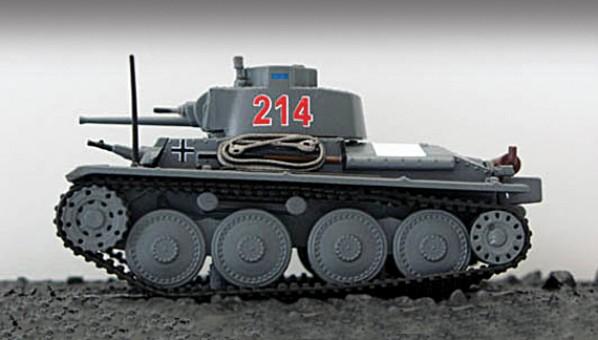Pz.Kpfw.38(t) 7th Panzer Division, Eastern Front, 1941  Scale 1:72 Die Cast Model Blitz Models BL17982