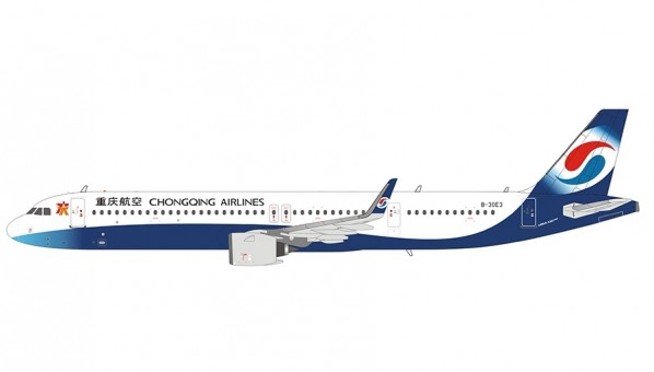 Chongqing Airlines Airbus A321neo B-30E3 重庆航空 NG Models 13007 scale 1400