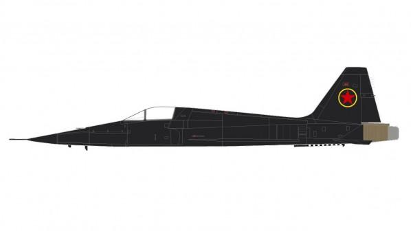 F-5E 1980s (MiG-28S psuedo scheme) Hobby Master HA3338 scale 1:72