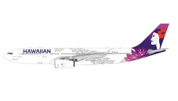 Hawaiian Air Airbus A330-200 N360HA NG Models 61021 scale 1-400