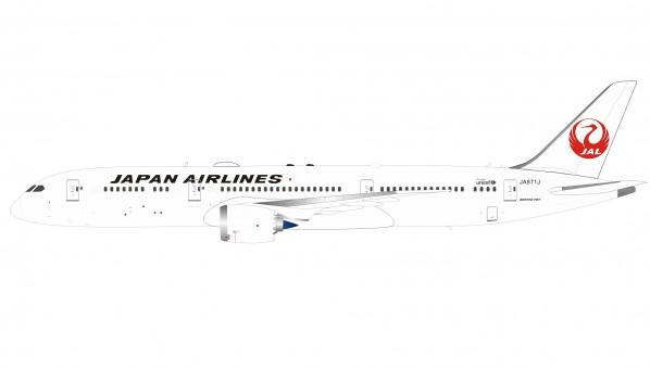 JAL Japan Airlines Boeing 787-9 Dreamliner JA871J Inflight/B-Models B-789-JA-01 with stand scale 1:200