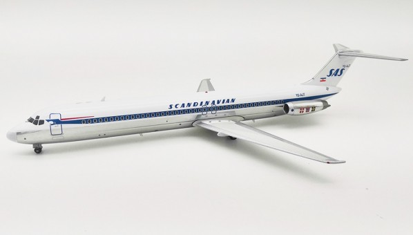 SAS Scandinavian DC-9-51 YU-AJT With Stand Inflight IFDC951SK0219BP scale 1:200