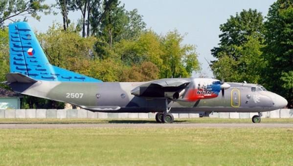Czech Air Force Antonov AN-26 2507 90th Anniversary die-cast by AviaBoss models A2028 scale 1:200