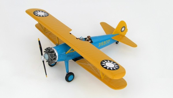 PT-17 Kaydet Boeing Chinese Air Force Hobby Master HA8110 scale 1:48