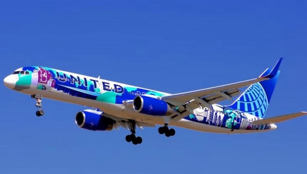 United Boeing 757-200 New Special livery Her Art Here NY NJ N14102 JC Wings EW2752002 scale 1:200