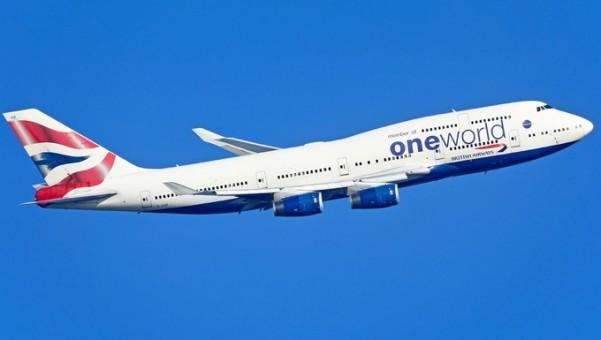 British Airways One World Boeing 747-400 G-CIVZ die-cast Phoenix 04349 scale 1:400