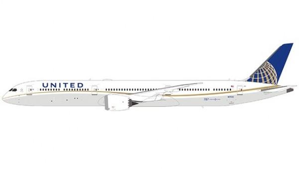 United Boeing 787-10 N17002 Dreamliner B78X NGModel 56002 scale 1400